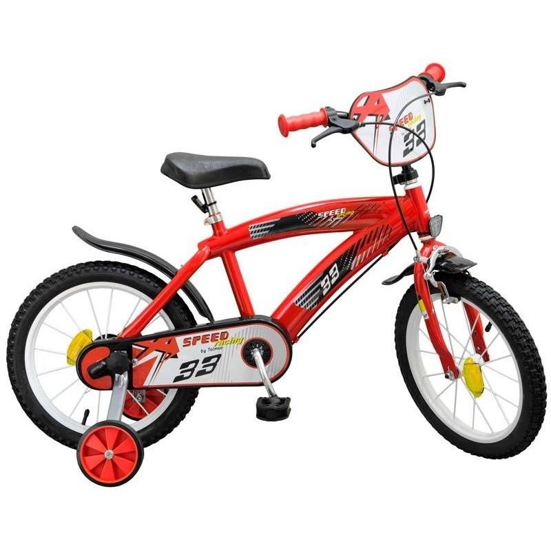 Bicicleta 16 pulgadas TX Roja