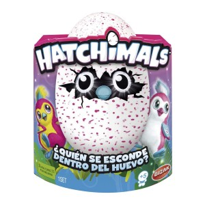 Hatchimals Pingüino rosa - Bizak