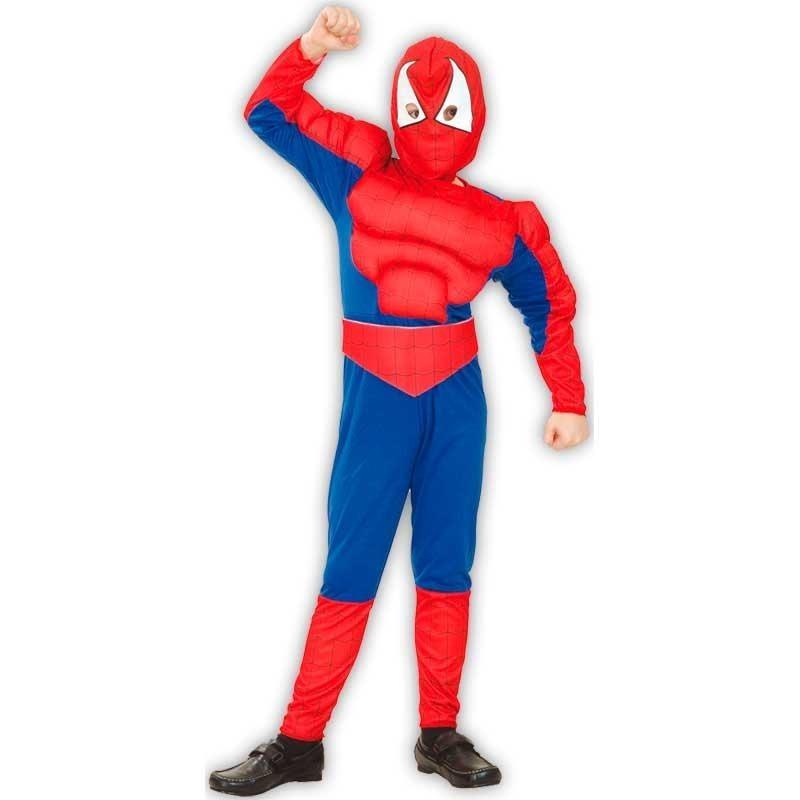 L Spiderman disfraz