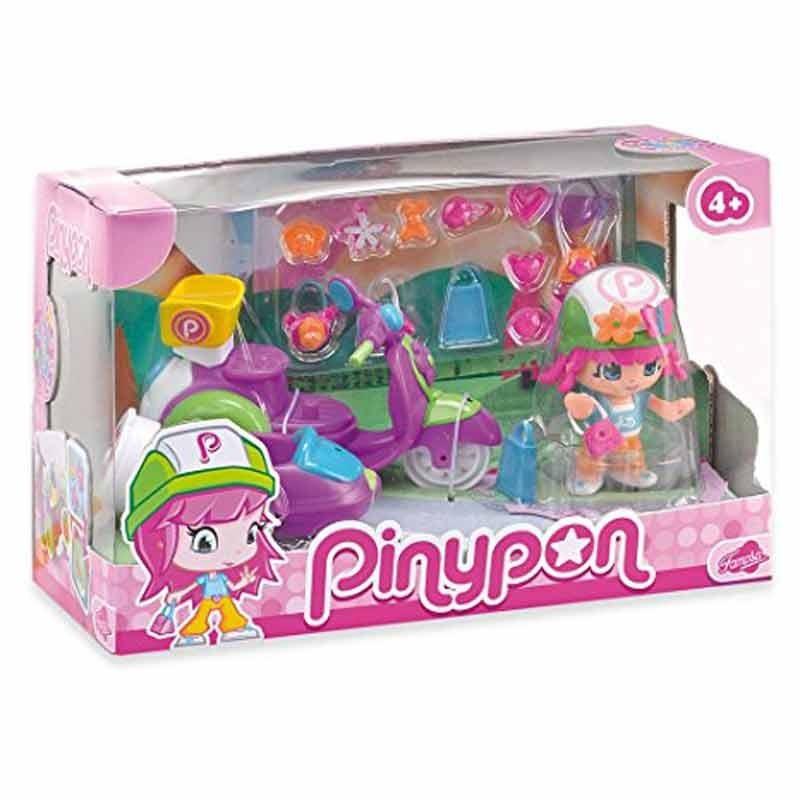 Pinypon Coche Picnic y Moto