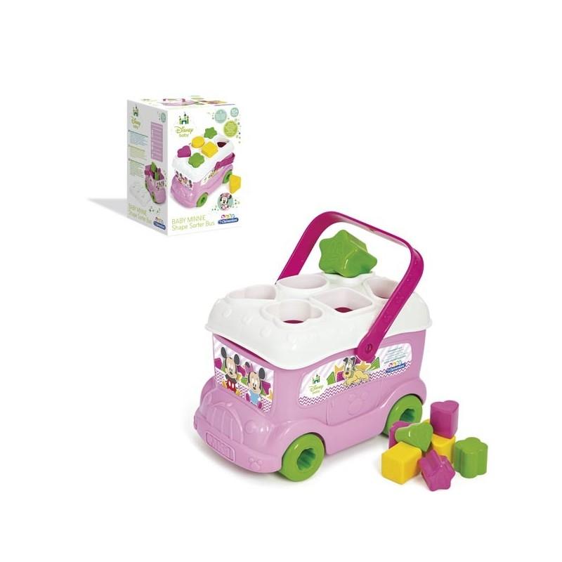 Autobús Formas y Colores Baby Minnie