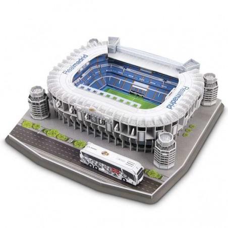 Puzzle 3D Estadio Santiago Bernabéu NanoStad