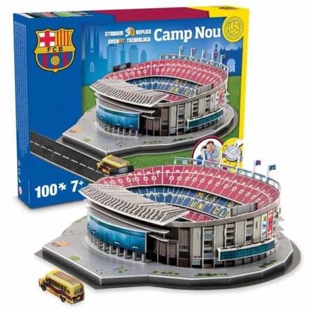 Puzzle 3D Camp Nou NanoStad