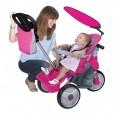 Triciclo para Bebés Evolutivo Rosa