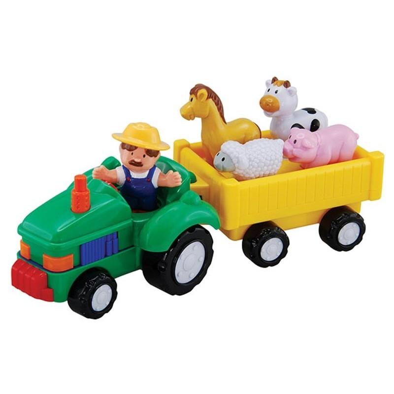 Tractor Interactivo Infantil con Animales