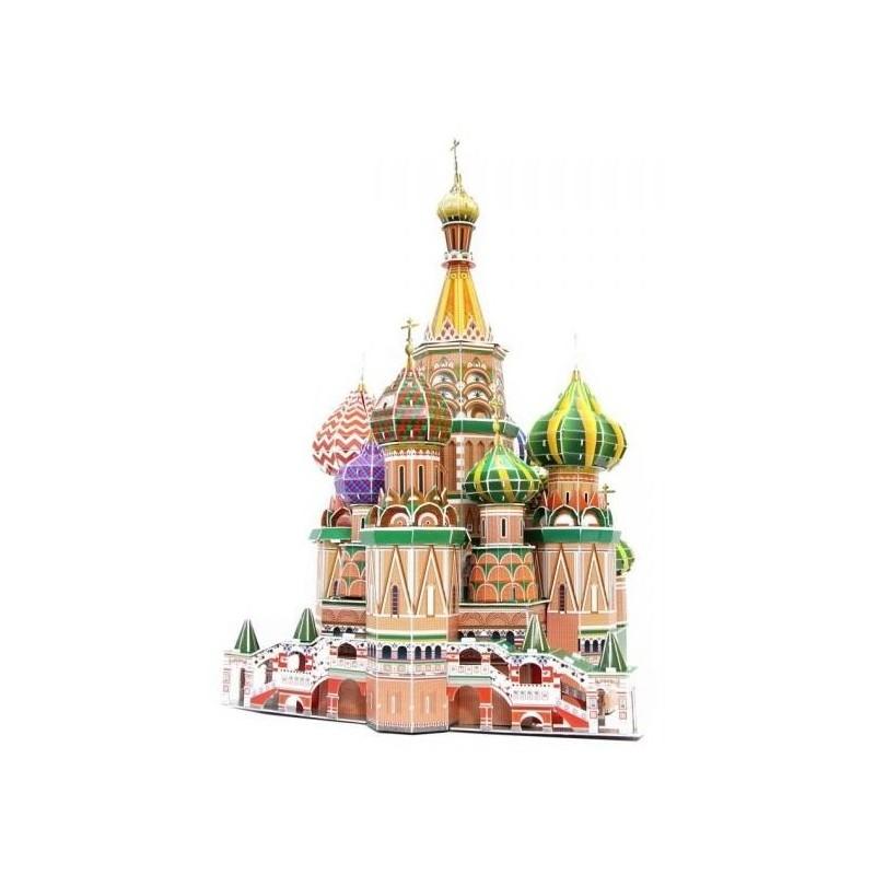 Puzzle 3D catedral de San Basilio