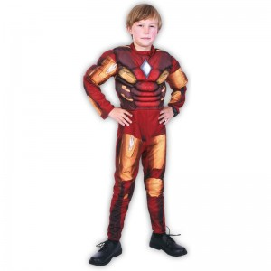 S Iron Man disfraz