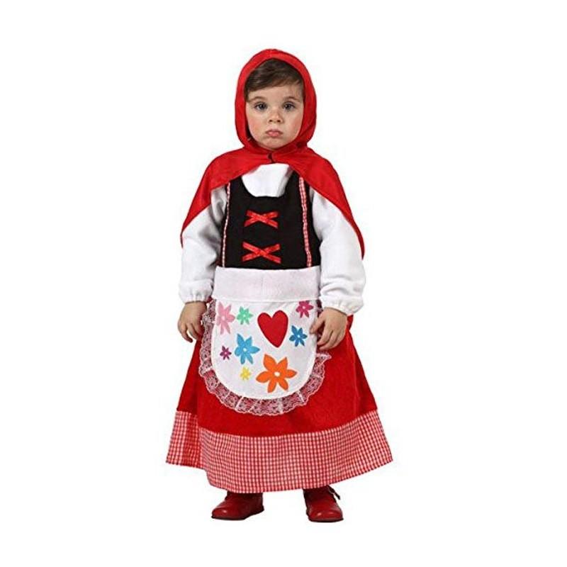 Disfraz Caperucita Roja Bebe 12-24M