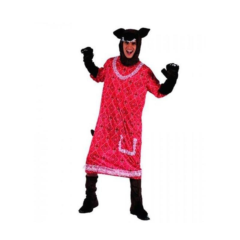 Disfraz Lobo de Caperucita Adulto