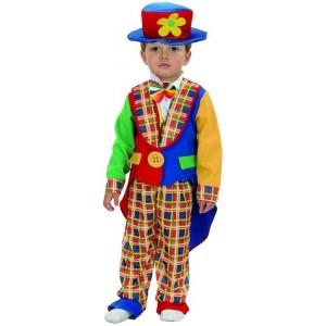 Disfraz de payaso para niño XS