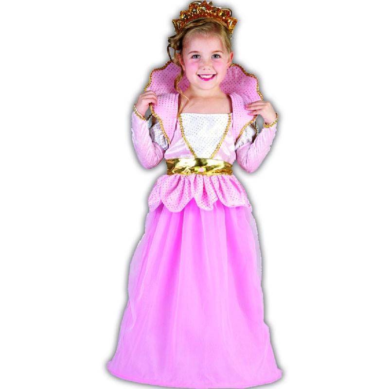 XXS Reina rosa disfraz infantil