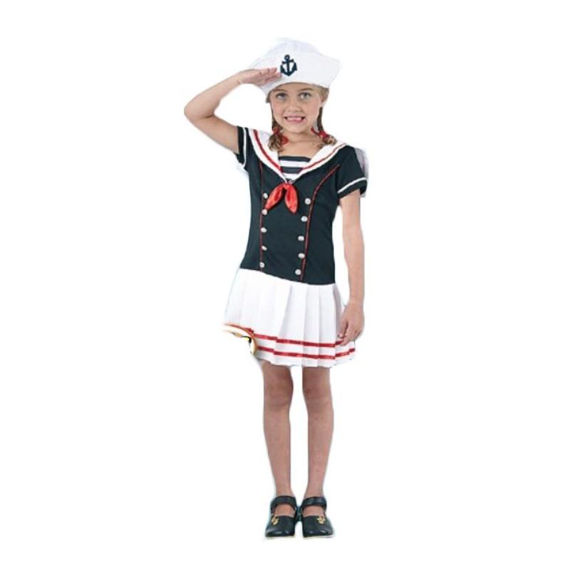Disfraz de marinera niña M