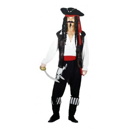 Disfraz de Capitan Pirata M
