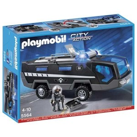 Camión Unidad Especial de Policía Playmobil