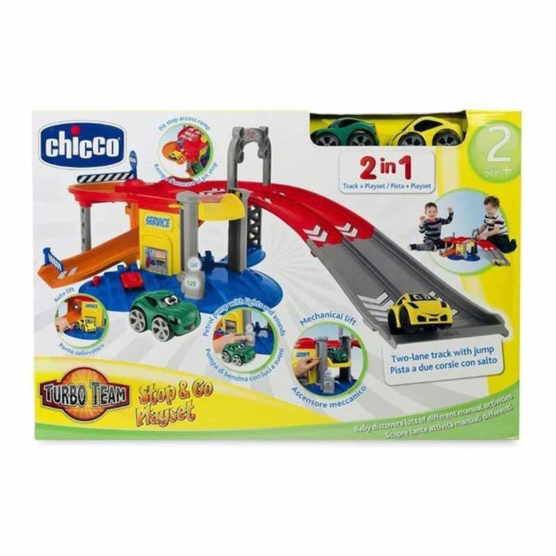 Chicco Garaje Turbo Team Stop & Go