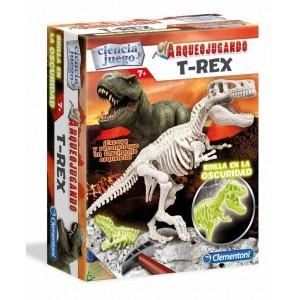 Arqueojugando T-Rex Fosforescente