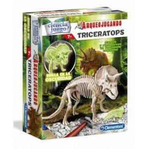 Arqueojugando Triceratops Fosforescente