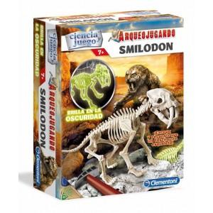 Arqueojugando Smilodon Fosforescente