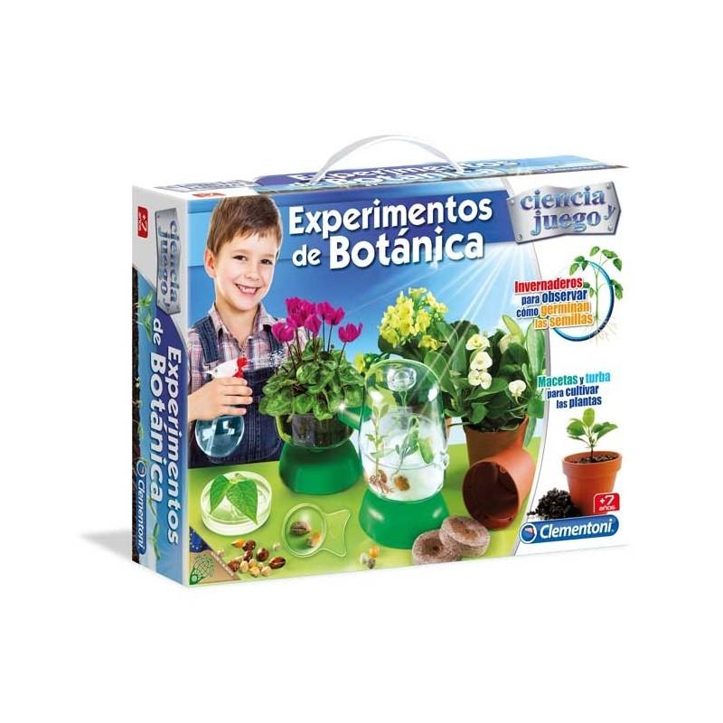 Experimentos de Botánica