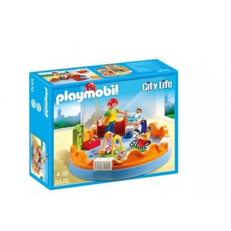 Playmobil City Life Zona de Bebés