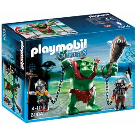Trol Gigante con Luchadores Playmobil