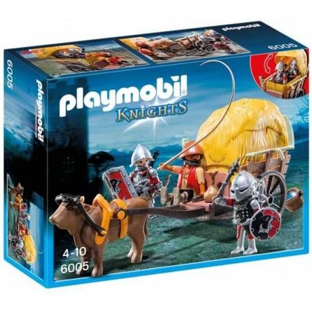 Caballeros del Halcón con Carruaje Playmobil