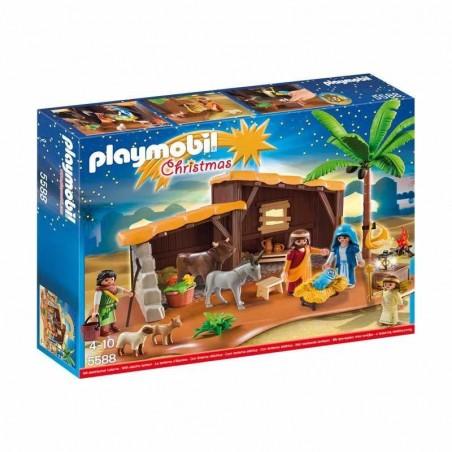 Playmobil Belen con Establo