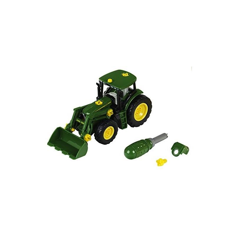 John Deere Tractor con Carga Frontal y Pesa