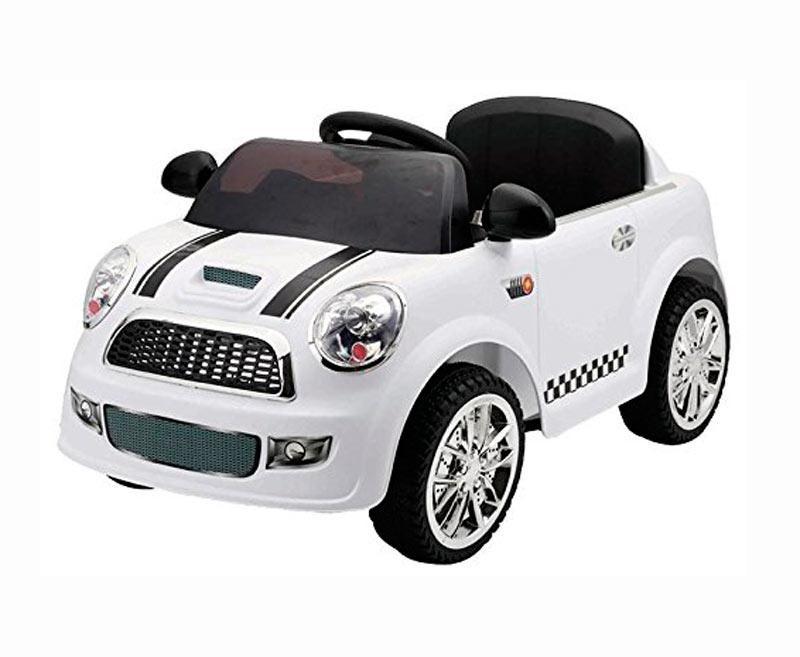 Coche Eléctrico Infantil Mini Blanco