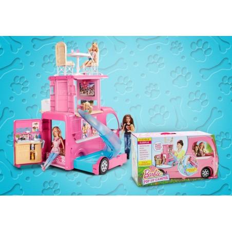 Barbie autocaravana superdivertida - Mattel