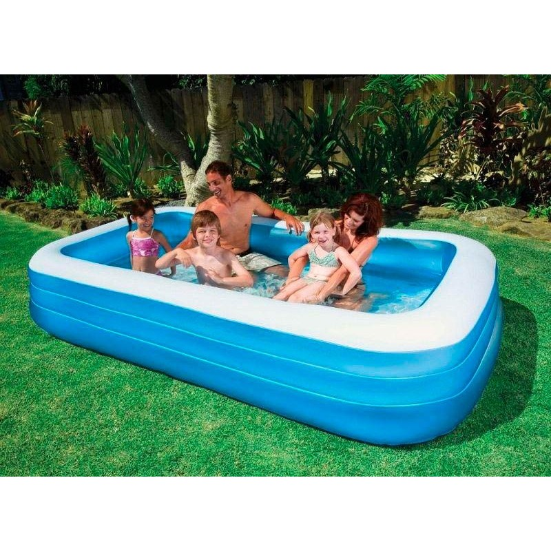 Piscina Hinchable Azul