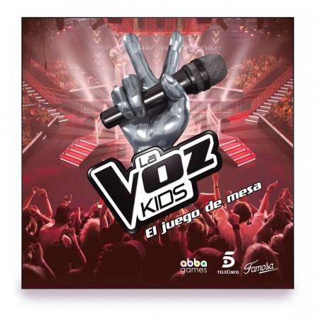 Juego la Voz kids - Famosa