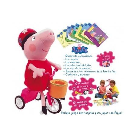 Peppa Pig y su bicicleta - Bandai