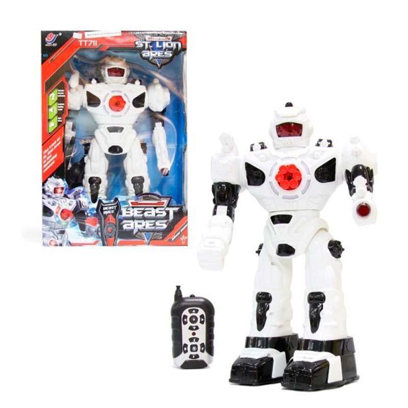Robot con Luces Lanzamisiles
