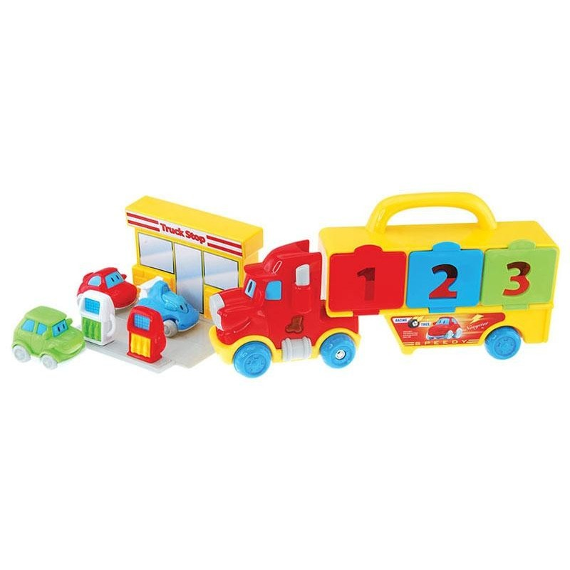 Camión Transportador de Coches Infantil