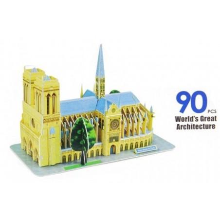 Puzzle 3D catedral Notre Dame