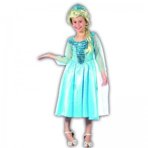 L Elsa Frozen disfraz