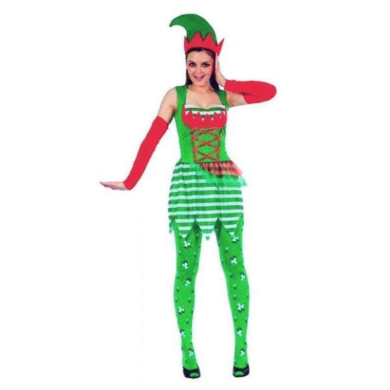Disfraz Elfo de Mujer M