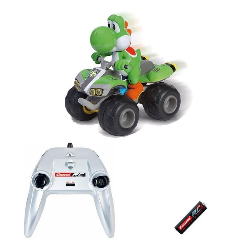 Coche Carrera rc Yoshi Nintendo Mario Kart 8