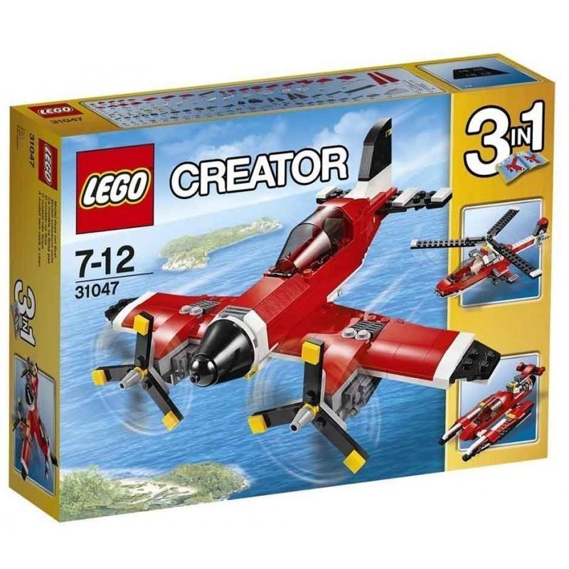 LEGO CREATOR Avión con hélices