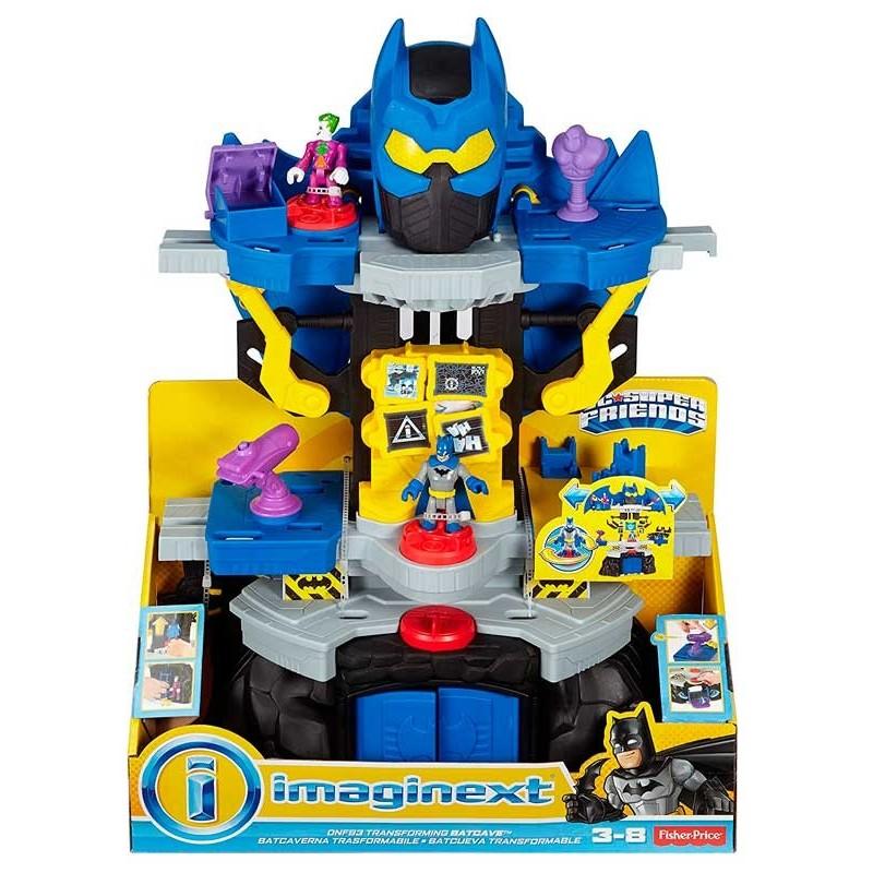 Batman Batcueva Transformable