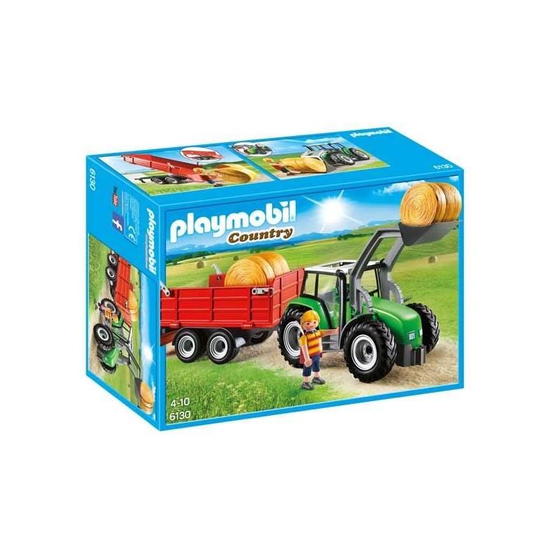 Tractor con Tráiler Playmobil
