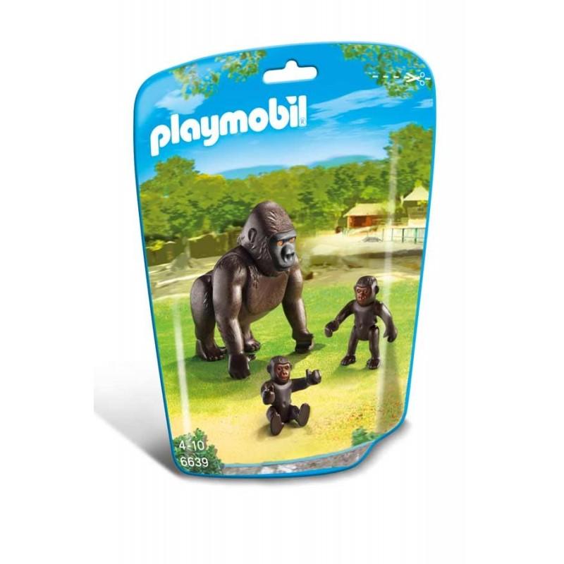 Familia de Gorilas Playmobil