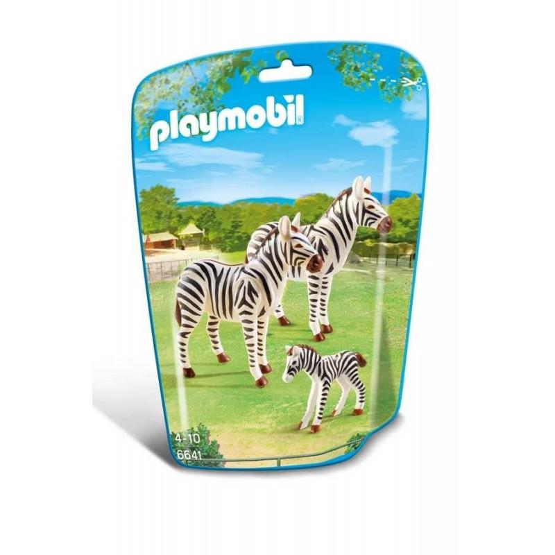 Familia de Cebras Playmobil