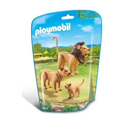 Familia Leones Playmobil
