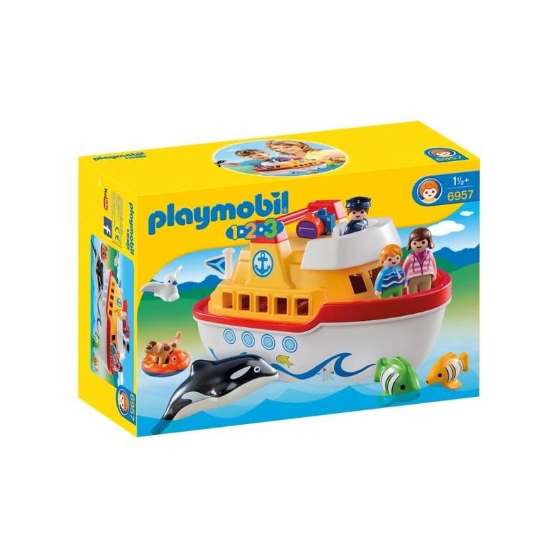 Barco Maletín 1.2.3 Playmobil
