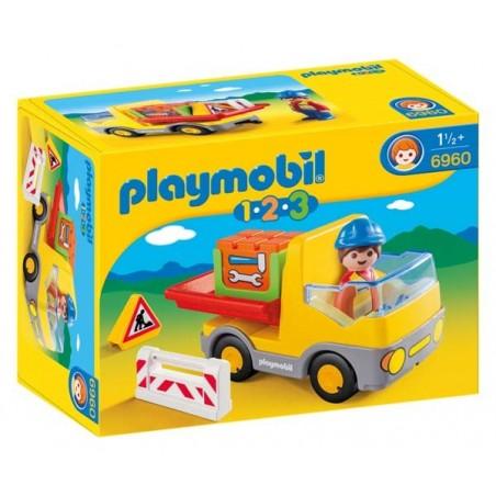 Camión de Construcción 1.2.3 Playmobil