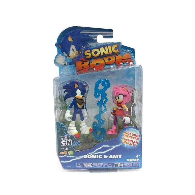 Sonic Pack Doble Figura Articulada