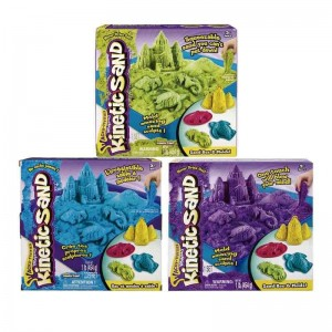 Kinetic Sand Play Set Castillo