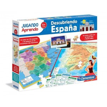 Juego Descubriendo España